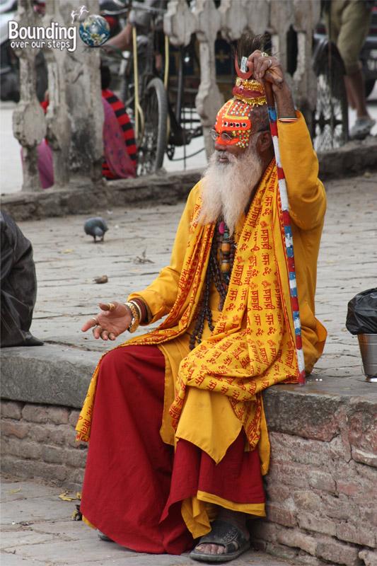 People of Nepal - Suffi Elder