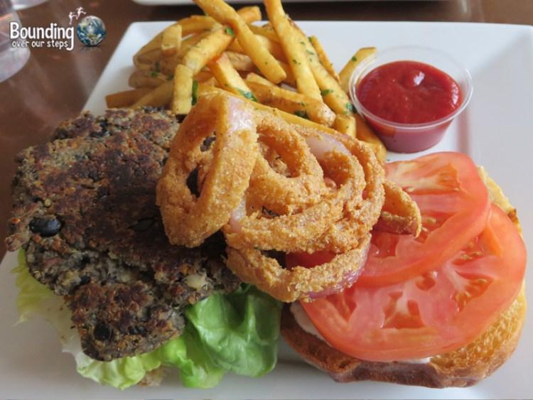 Root Vegan Restaurant - Root Burger