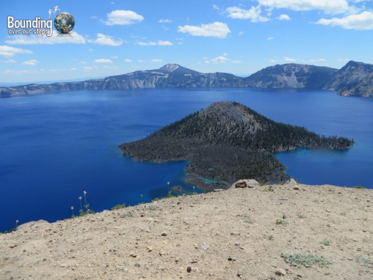 Pic 3 - Crater Lake - View of Wizard Island from Watchman Overlook