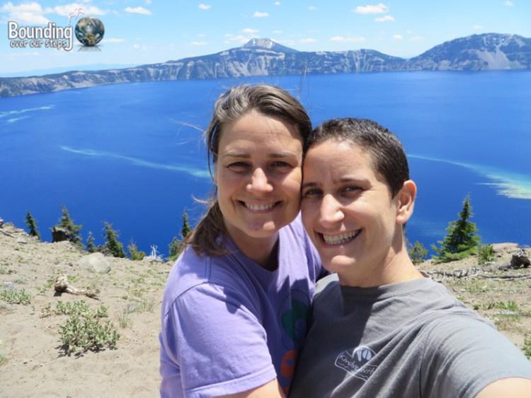 Pic 4 - Crater Lake - Selfie of us at Devil's Backbone