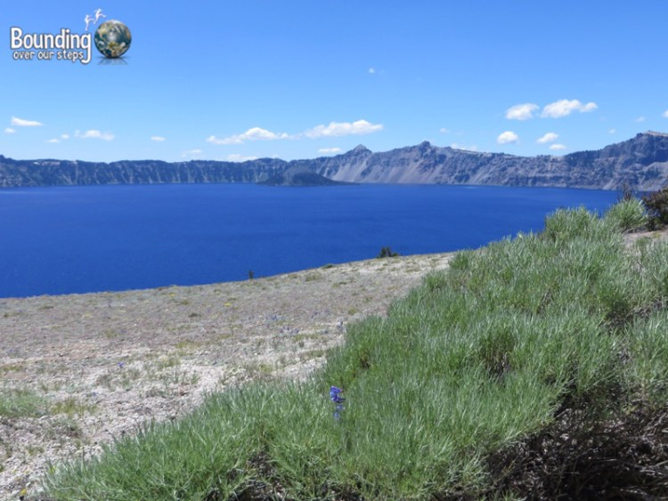 Pic 8 - Crater Lake - between Cleetwood Cove and Grotto Cove