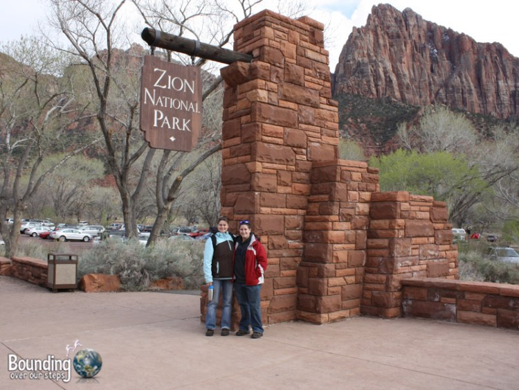 At Zion National Park in Utah
