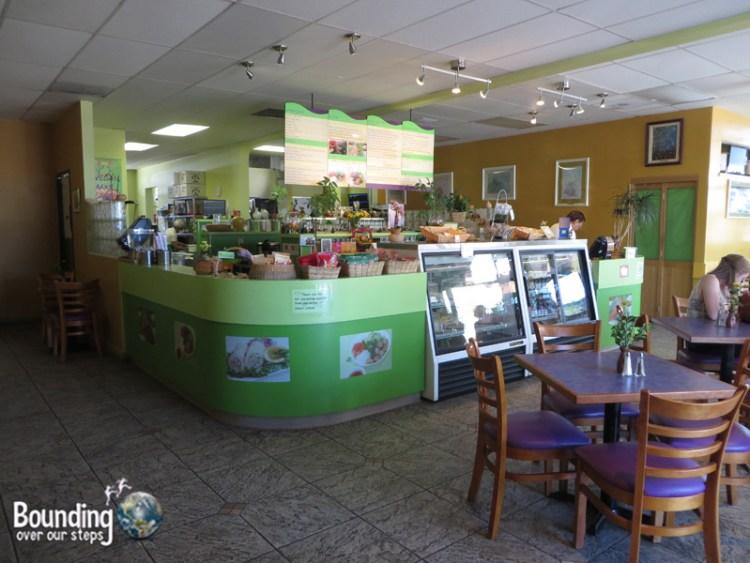 Sweet Lemon Vegan Bistro Portland - Dining Area