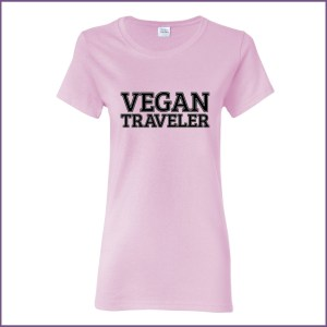 Vegan Traveler - Ladies - Light Pink