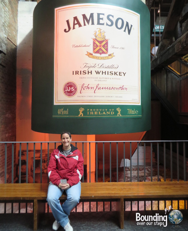 Vegan in Ireland - Jameson Whiskey Tour