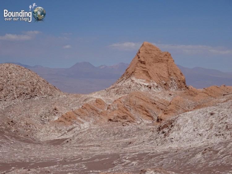 Atacama Desert - Valle de la Luna - View from Amphitheater