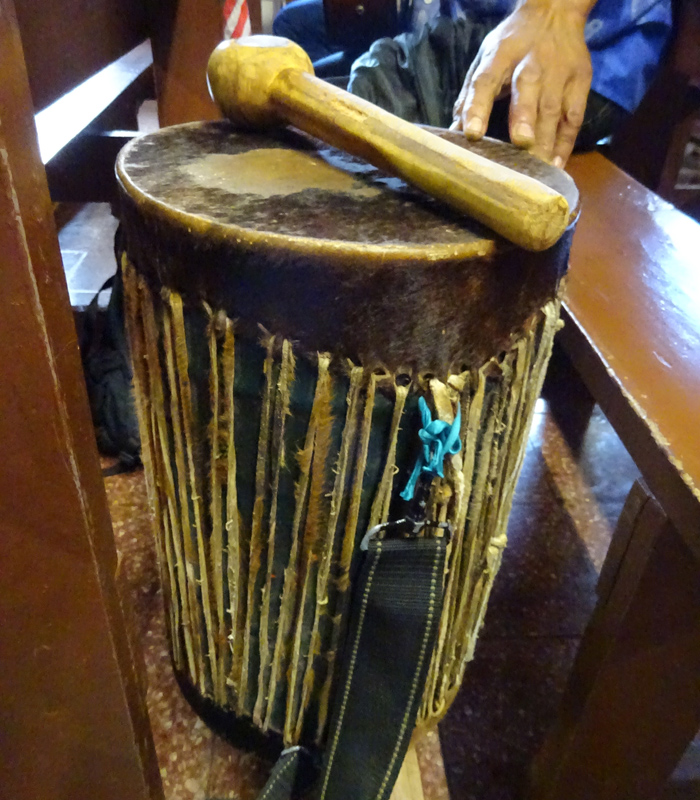 Church at Easter Island - Drum