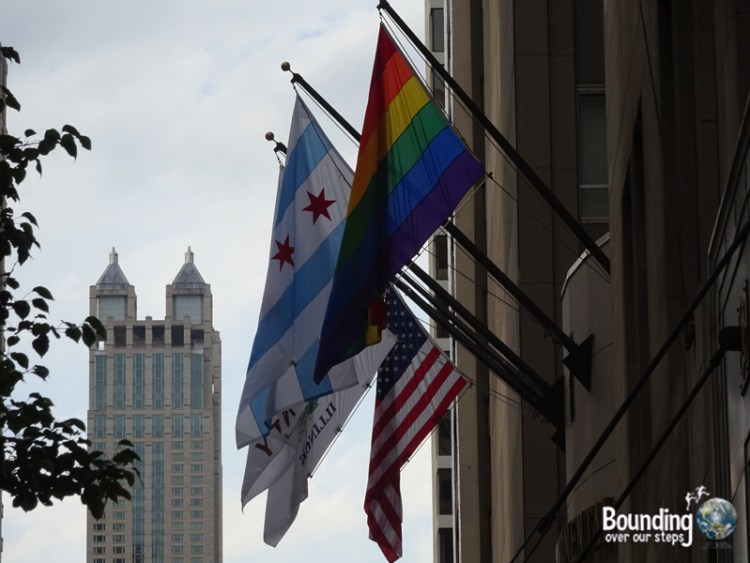 Chicago Awesome City - Pride Flag Hotel