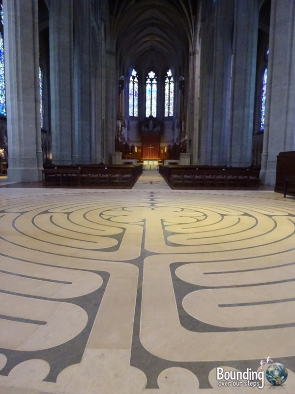 Free Things in San Francisco - Grace Cathedral Inner Labyrinth