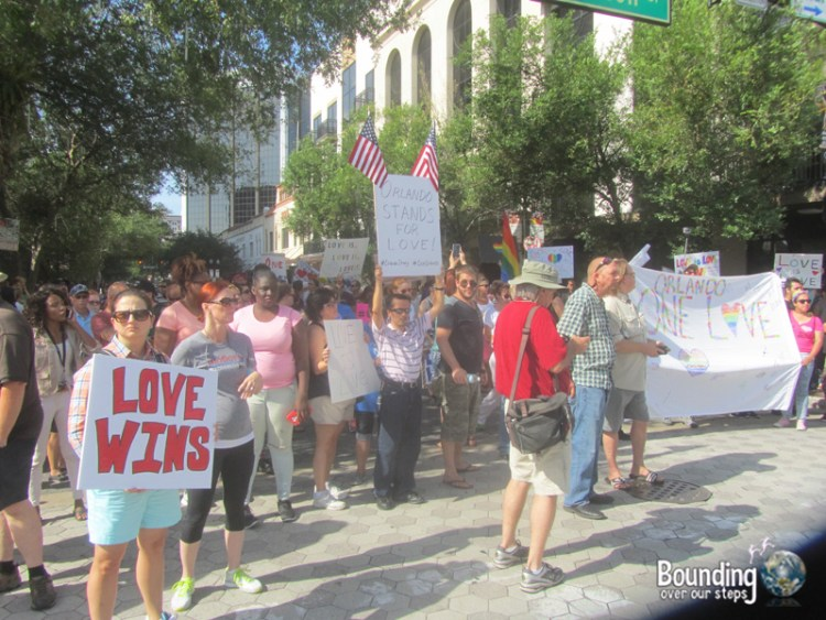 Love Wins Against Westboro - Counter Demonstration