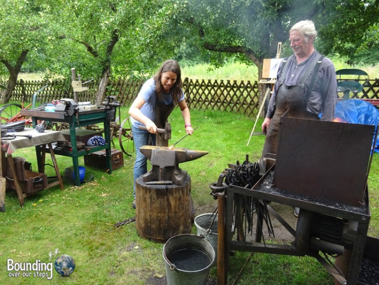 Things to do in Berlin - Spreewald - Blacksmith