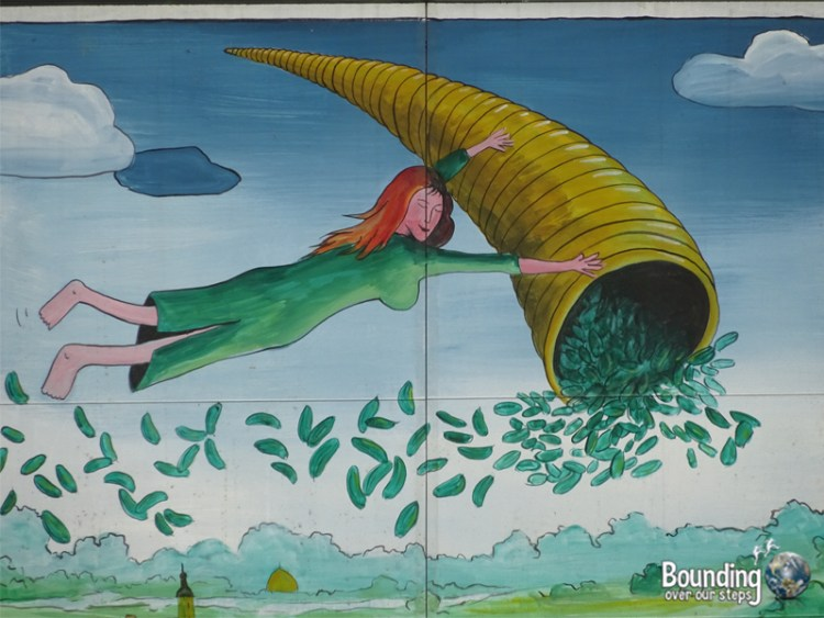 Things to do in Berlin - Spreewald - Pickle Mural