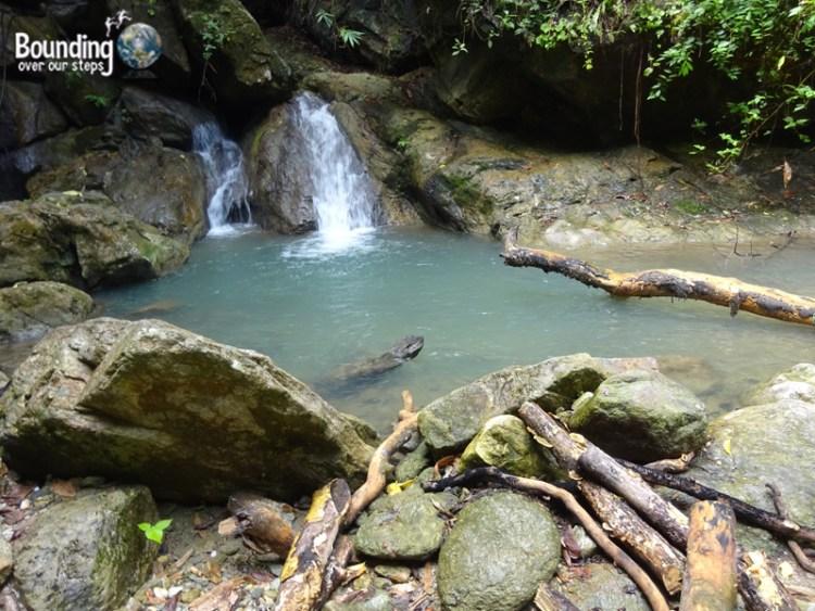 Talipanan Beach - Waterfall