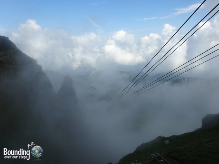Zakopane - Polish Alps - Foggy Cable Car