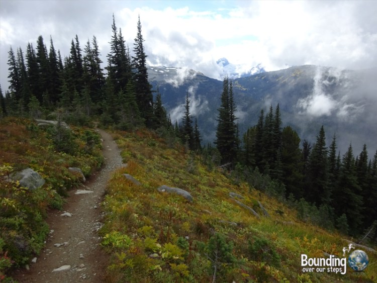 Hiking in Whistler - Blackcomb Mountain Trail 2
