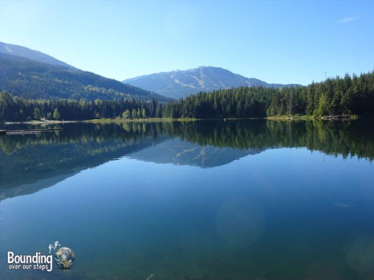 Hiking in Whistler - Lost Lake Symmetry