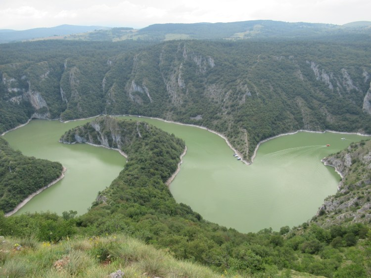Uvac River Hike - Meanders with a boat