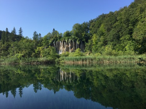 Vegan in Croatia - Plitvice Lakes National Park - Waterfalls