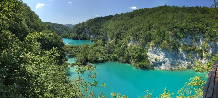 Vegan in Croatia - Plitvice Lakes National Park - Panorama View