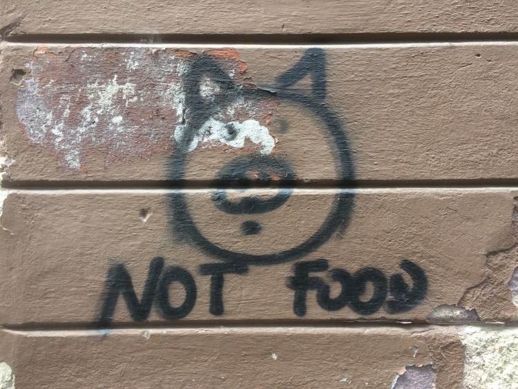 Vegan in Slovenia - Ljubljana Graffiti