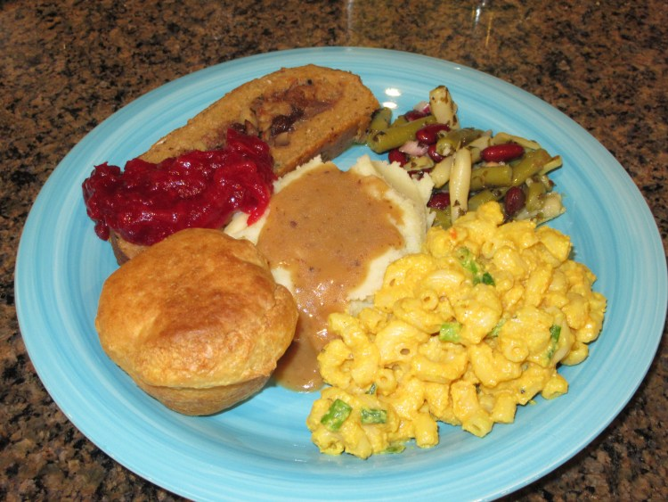 Vegan Thanksgiving Recipes - Full Plate