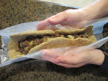 Vegan Thanksgiving Recipes - Sealing Seitan Loaf