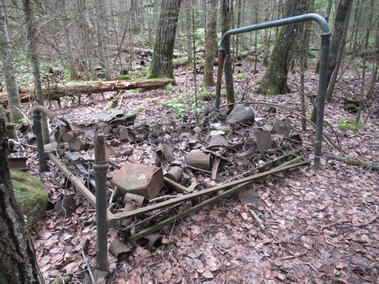 Junk or artifacts in the Boundary Waters Canoe Area (BWCA)