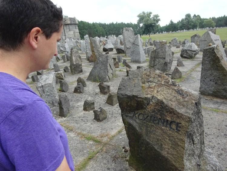 Kozenice stone marker at Treblinka