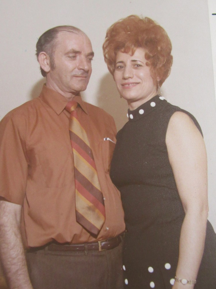 Zaide Meir and Buba Shoshana 1972