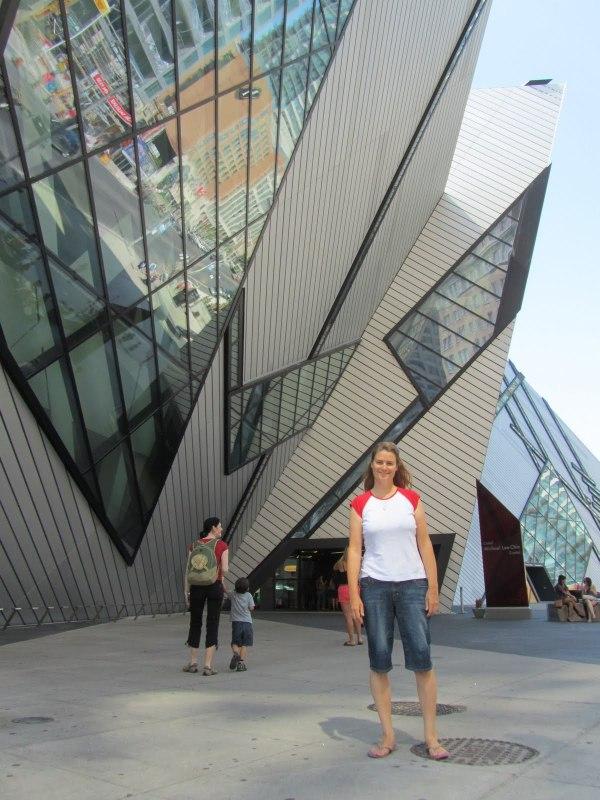 Visiting Royal Ontario Museum Toronto - Bounding Over