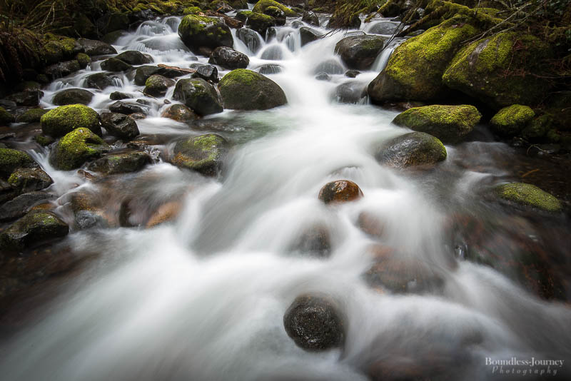 Wallace River Wallace Falls State Park Flowing water moss Washington Pacific Northwest PNW