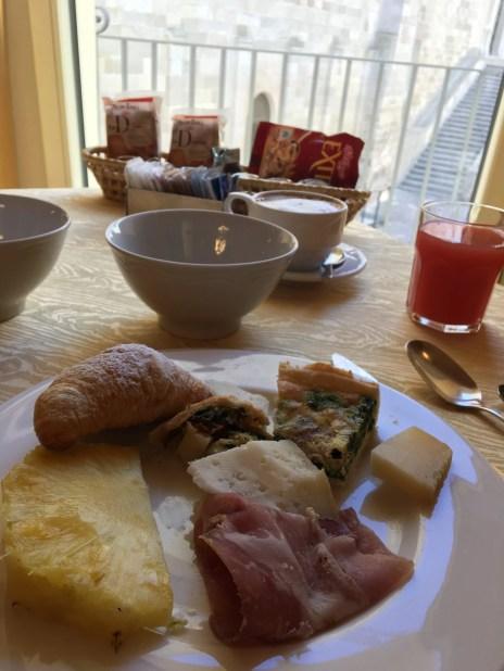 Breakfast in Puglia