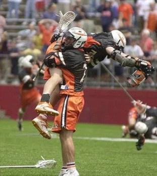 Princeton Lacrosse 2001
