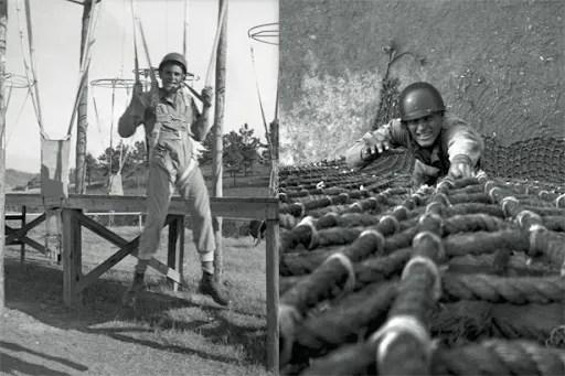 Easy Company Training at Camp Toccoa