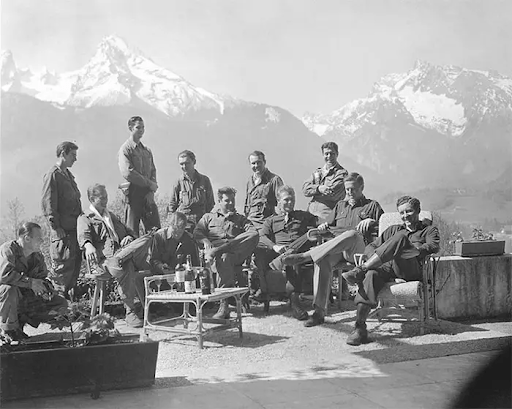 Easy Company at the Eagle's Nest