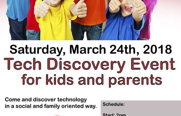 Tech Discovery Event for Kids & Parents