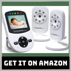 Babysense Video Baby Monitor V24US