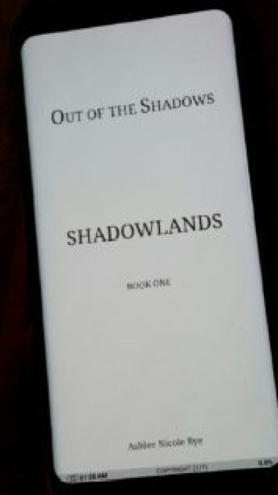 Out of the Shadows - Ashlee Nicole Bye review