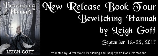 Book tour- bewitching hannah - leigh goff