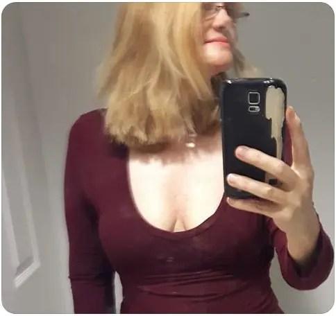 Julie-selfie