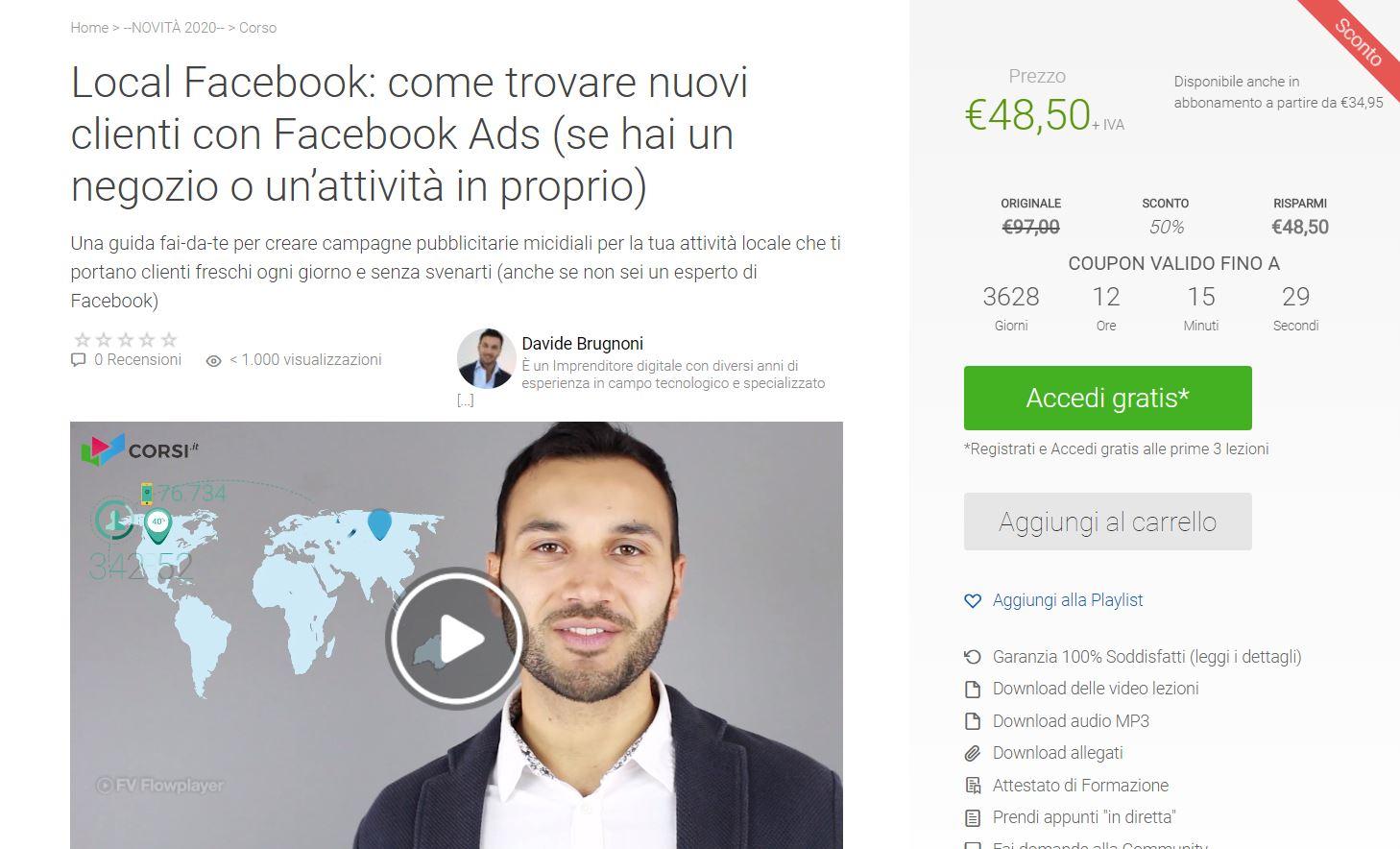 Come trovare nuovi clienti online con Local Facebook