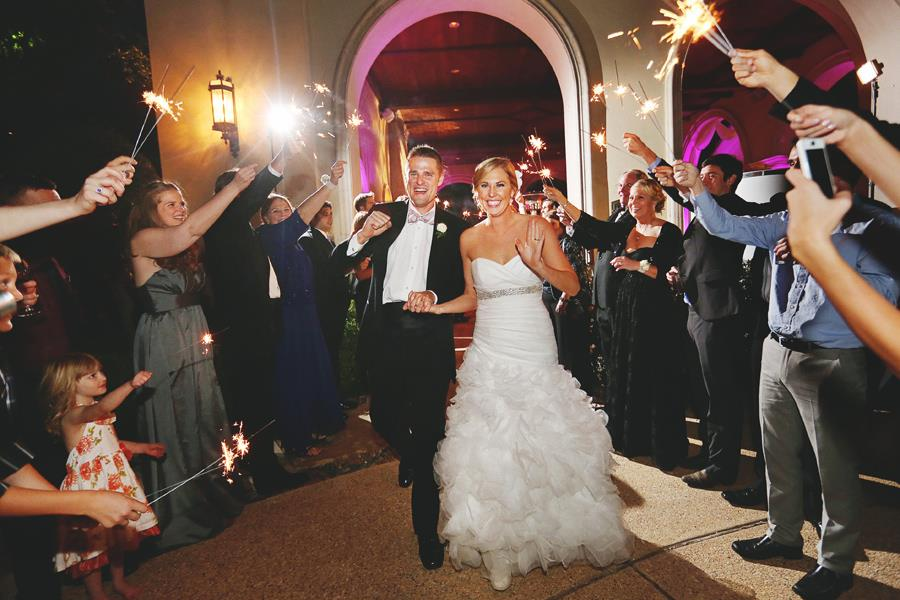 Exiting in style-sparklers