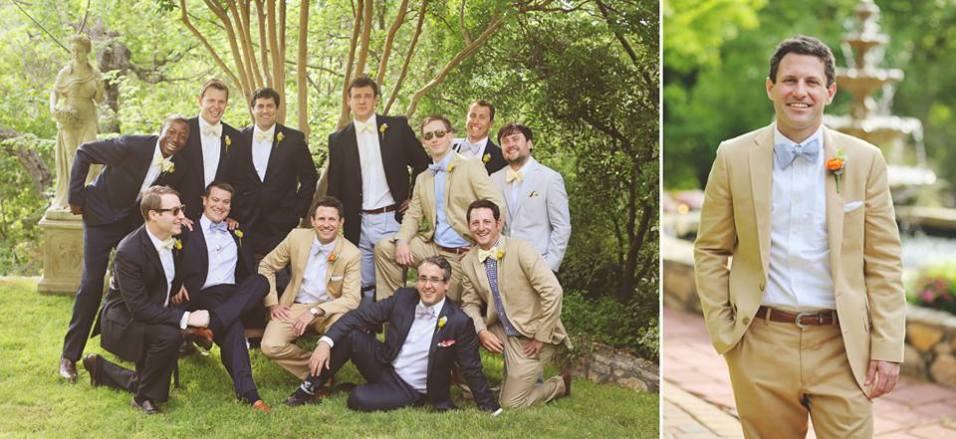 Sharp dressed men.