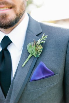 Boutonniere for grooms man.