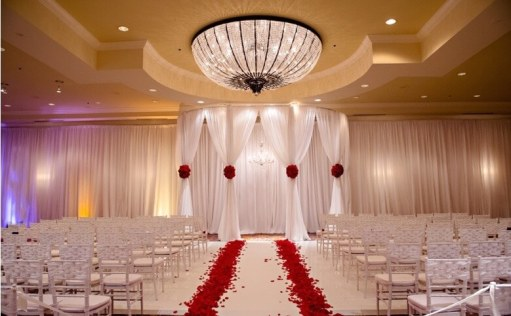 red rose aisle four seasons austin