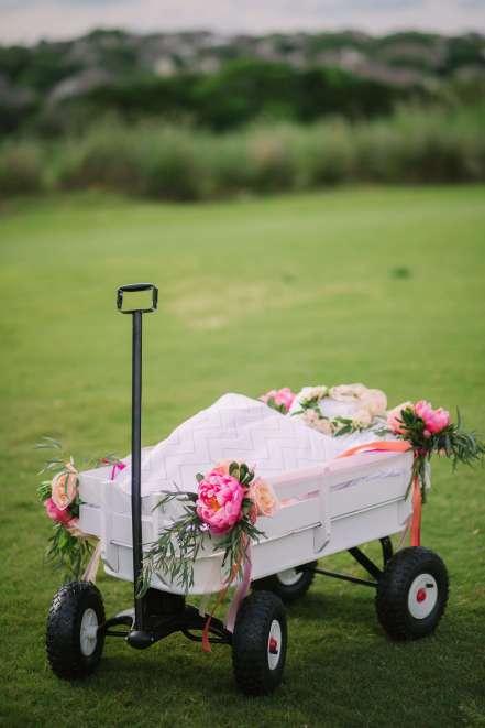 wagon for flower girl