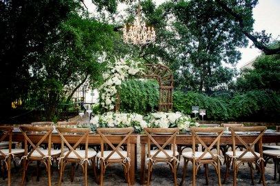 outdoor allan house reception