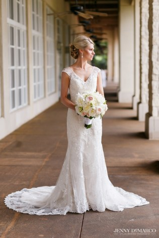 Traditional bride at Barton Creek Country Club.