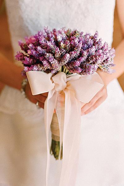 Lavender  Bouquet Wedding Flower
