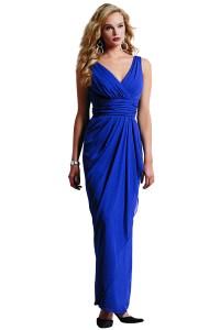 Cobalt Blue Bridesmaid Dresses | Bouquet Wedding Flower